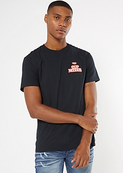 Black Cup Noodles Graphic Tee