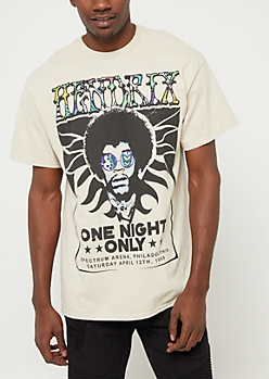 Sand Hendrix One Night Only Graphic Tee