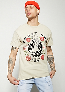 Sand Tiger Trust No 1 Graphic Tee
