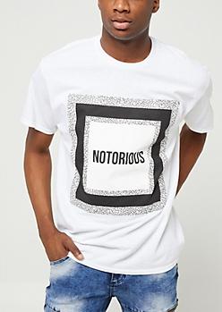 White Notorious Box Tee