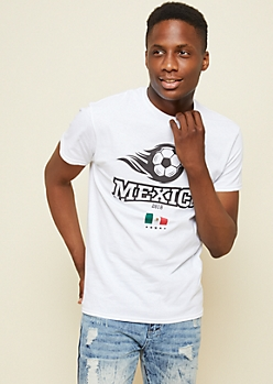 White Mexico Ball World Cup Tee