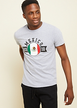 Heather Gray Mexico World Cup Tee
