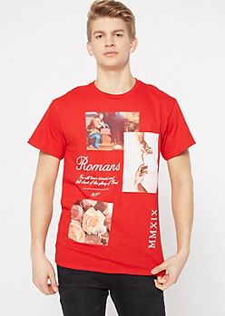 Red Romans Art Graphic Tee