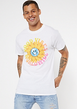Good Vibes Worldwide Graphic Tee