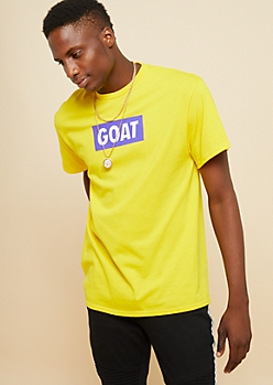Yellow Greatest Of All Time Box Tee