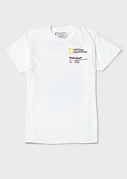 White National Geographic San Diego Graphic Tee