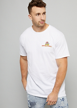 White Chuck E Cheese Logo Graphic Tee