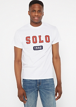 White Solo 1996 Graphic Tee