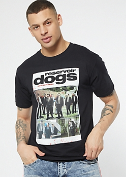 Black Reservoir Dogs Graphic Tee