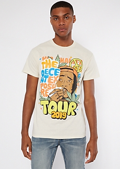 Sand Wiz Khalifa Tour Graphic Tee