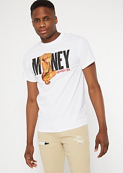 White Money Cardi B Graphic Tee