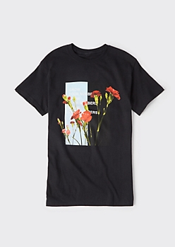 Black Grow Your Numbers Graphic Tee
