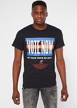 Black Vote Now Graphic Tee