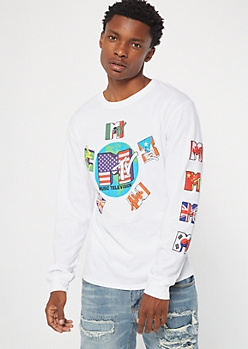 White World MTV Graphic Tee