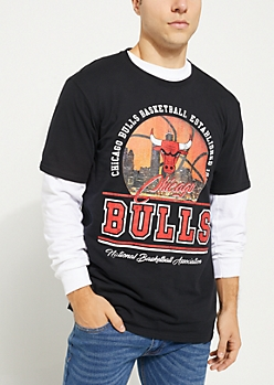 Chicago Bulls Skyline Short Sleeve Tee