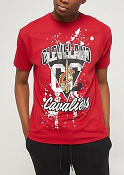 Cleveland Cavaliers Paint Splattered Tee