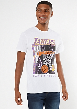 NBA Los Angeles Lakers Lightning Bolt Graphic Tee