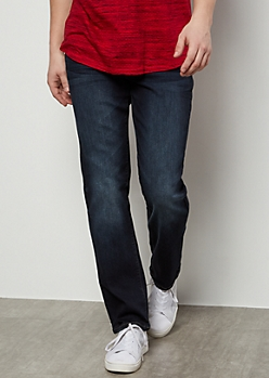 Ultra Flex Dark Wash Straight Jeans