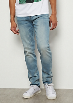 Ultra Flex Light Wash Skinny Jeans