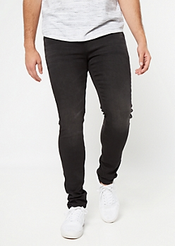 Ultra Flex Black Super Skinny Jeans