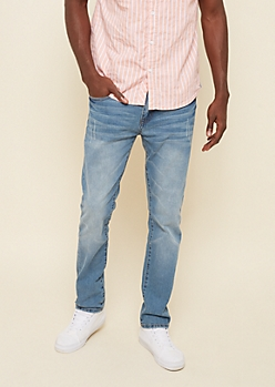 Freedom Flex Medium Nicked Slim Straight Jeans