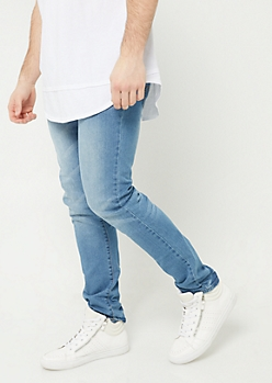 Light Vintage Wash Skinny Jeans