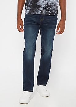 Ultra Flex Dark Wash Boot Cut Jeans