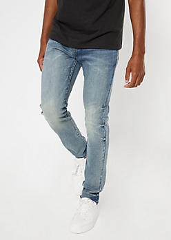 Ultra Flex Medium Wash Skinny Jeans
