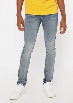 Ultra Flex Medium Wash Super Skinny Jeans
