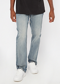 Ultra Flex Medium Wash Bootcut Jeans