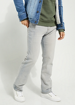 Flex Light Blue Sandblasted Bootcut Jeans