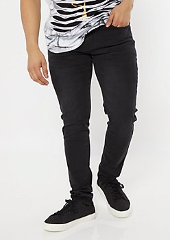 Ultra Flex Black Skinny Jeans