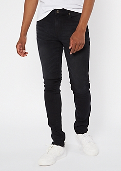 Supreme Flex Black Stacked Skinny Jeans