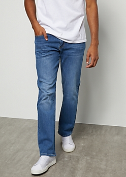 Flex Medium Wash Bootcut Jeans