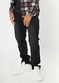 Ultra Flex Black Boot Cut Jeans