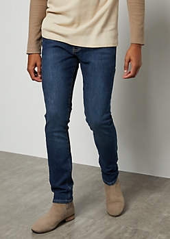 Flex Dark Wash Super Skinny Jeans