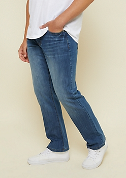 Flex Medium Wash Boot Cut Jeans