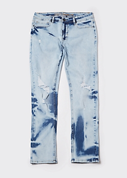 Supreme Flex Acid Wash Skinny Jeans