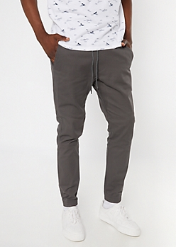Flex Gray Tech Joggers