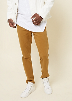 Flex Camel Slim Fit Chinos