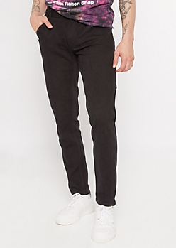 Black Skinny Carpenter Jeans