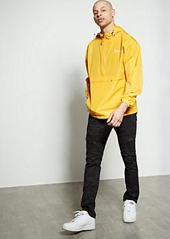 Flex Black Camo Print Zippered Moto Skinny Jeans
