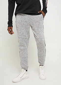 Charcoal Marled Fleece Joggers