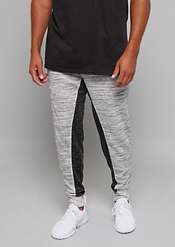 White Space Dye Contrast Inseam Joggers
