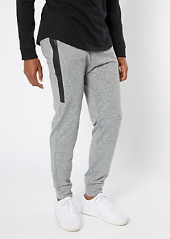 Gray Tech Pocket Active Joggers