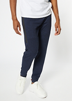 Navy Tech Pocket Active Joggers