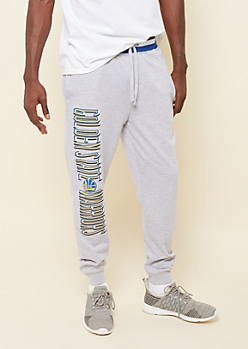 Heather Gray GS Warriors Soft Knit Joggers
