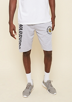 NBA Golden State Warriors Gray Team Name Shorts
