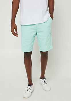 Mint Essential Twill Shorts