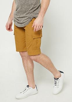 Camel Classic Cargo Shorts